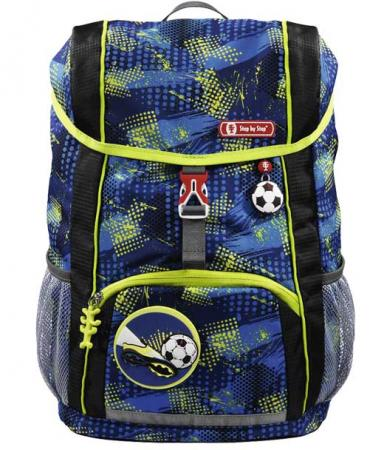 Step by Step KID Kinderrucksack 13 Liter Soccer Team 3-teilig