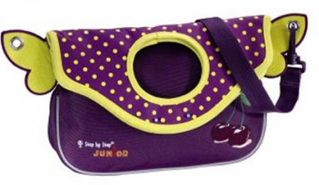 Step by Step Kindergartentasche Alpbag-Girls purple cherry