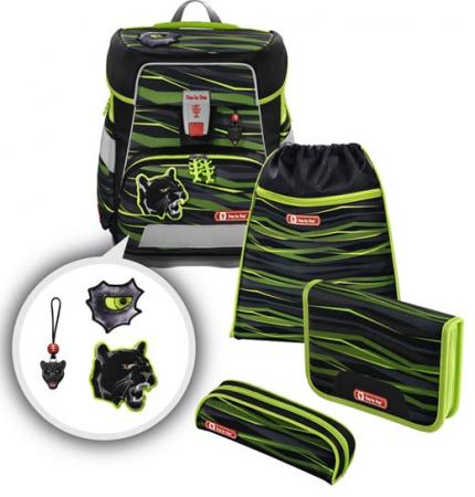 Step by Step Schulranzen Space Wild Cat 4 teiliges Set