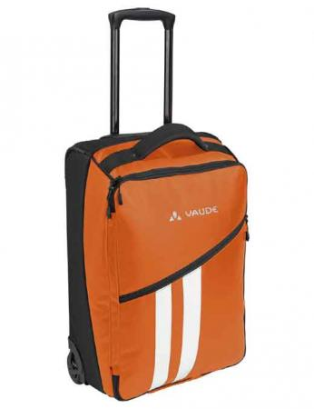 Vaude Reisetrolley Rotuma 35 Liter orange Bordgepäck Rollenreisetasche