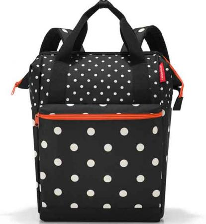 reisenthel allrounder R small mixed dots Shopper mit Rucksackfunktion
