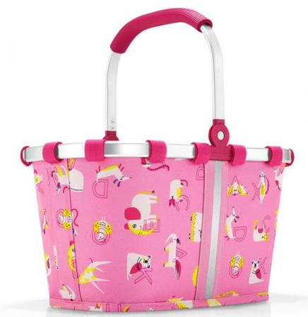 reisenthel carrybag XS Kids friends abc pink Einkaufskorb